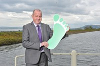 Energy Manager, Charlie Pollock, reducing NI Water's carbon footprint at Dorisland Impounding Reservoir