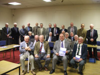 Brian Henderson (front row, second from right) of NI Water is pictured with members of Treetops Probus Club, East Belfast