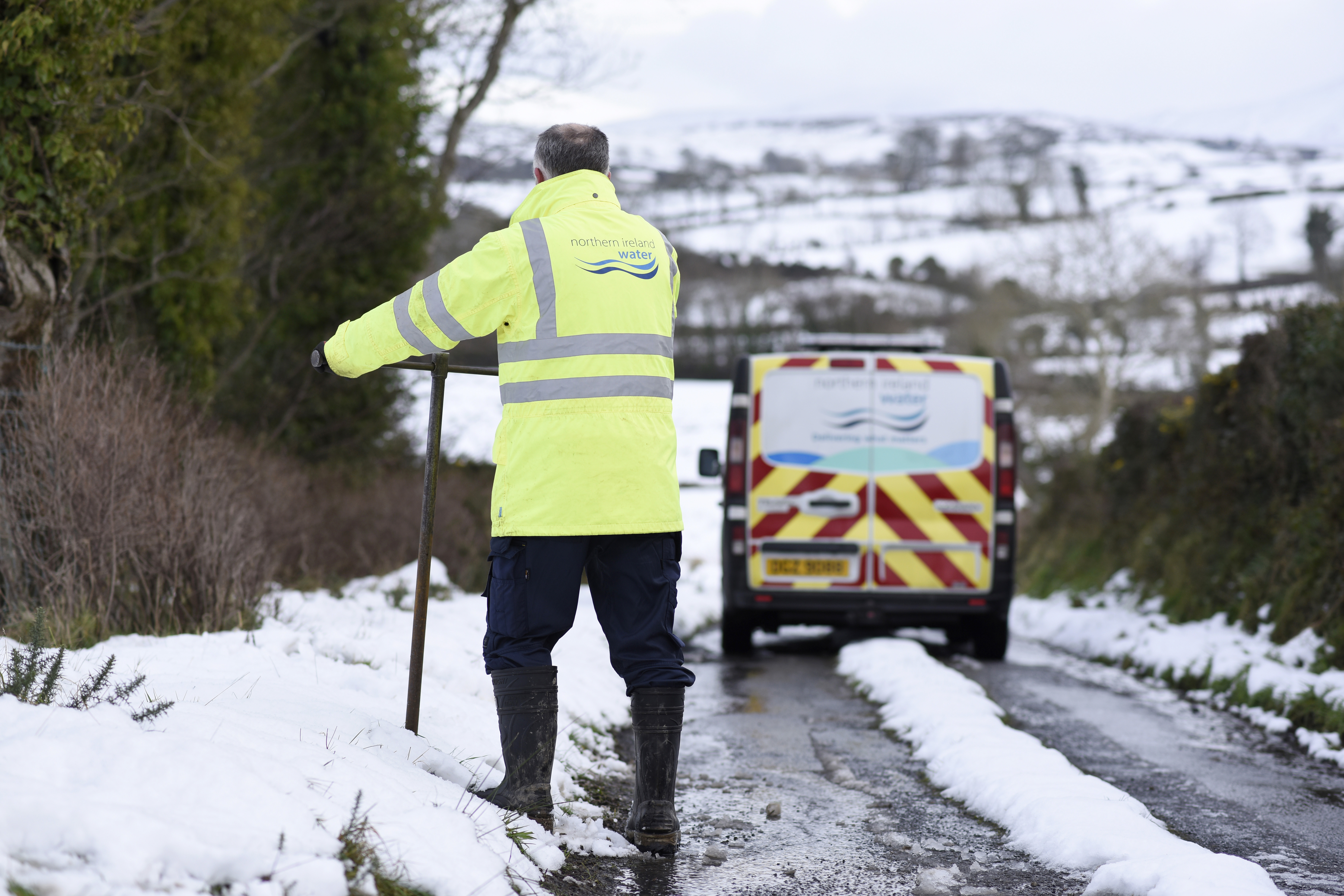 NI Water Preparations & Advice for Cold Snap