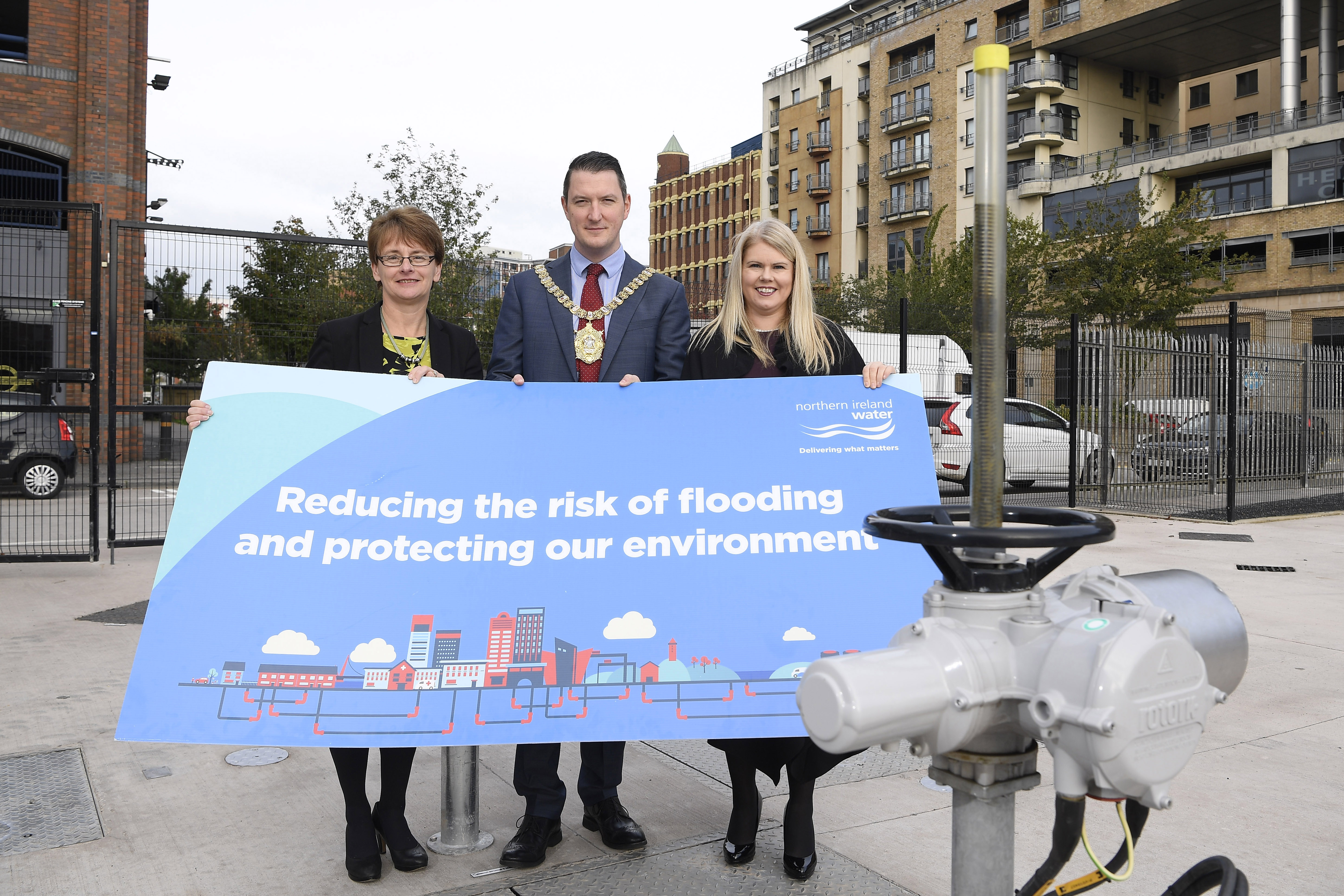 Completion of £5 Million Ormeau Avenue Sewer Project